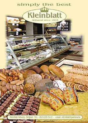 kleinblatt bakery antwerp